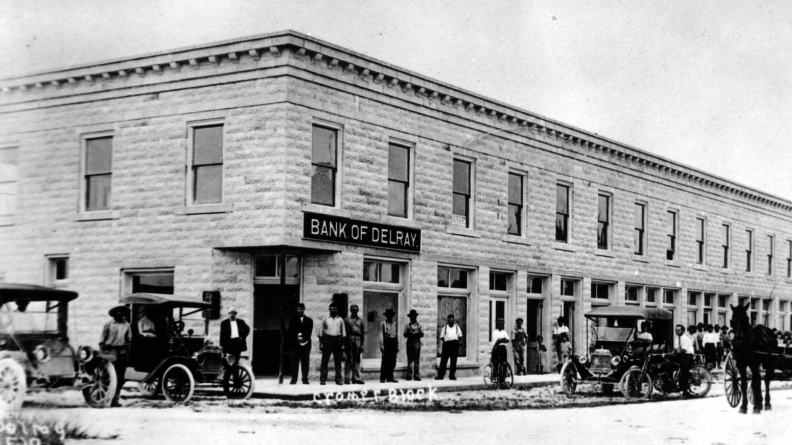 Bank of Delray 1912