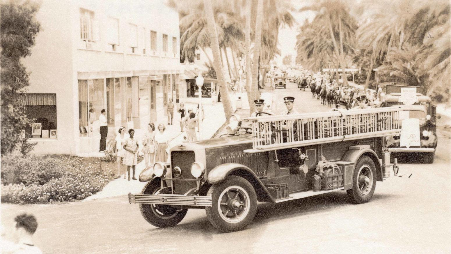 Delray Fire Department 1950 DBHS