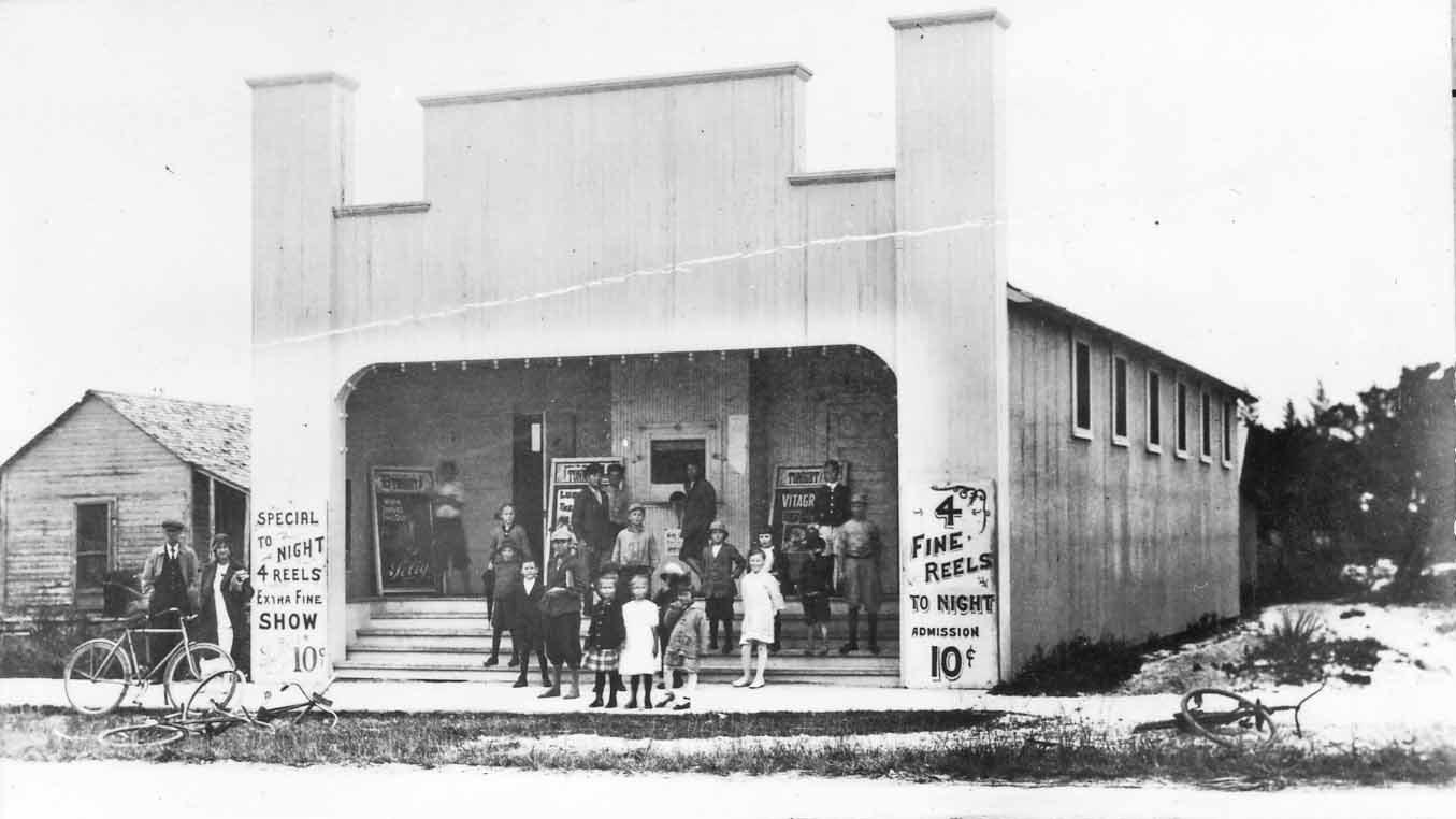 The first movie theater in Delray was called Bijou for 10 cents