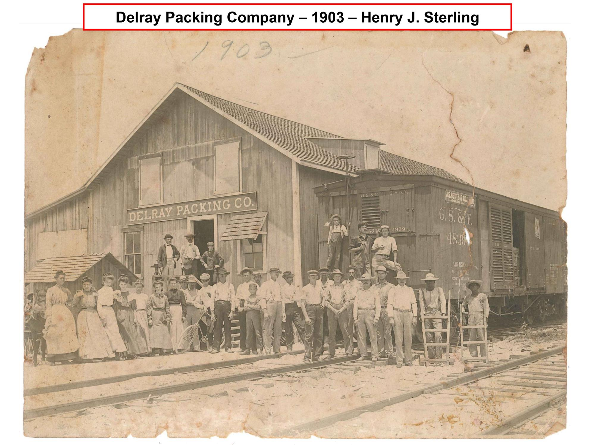 DBHS Delray Packing Company 1903
