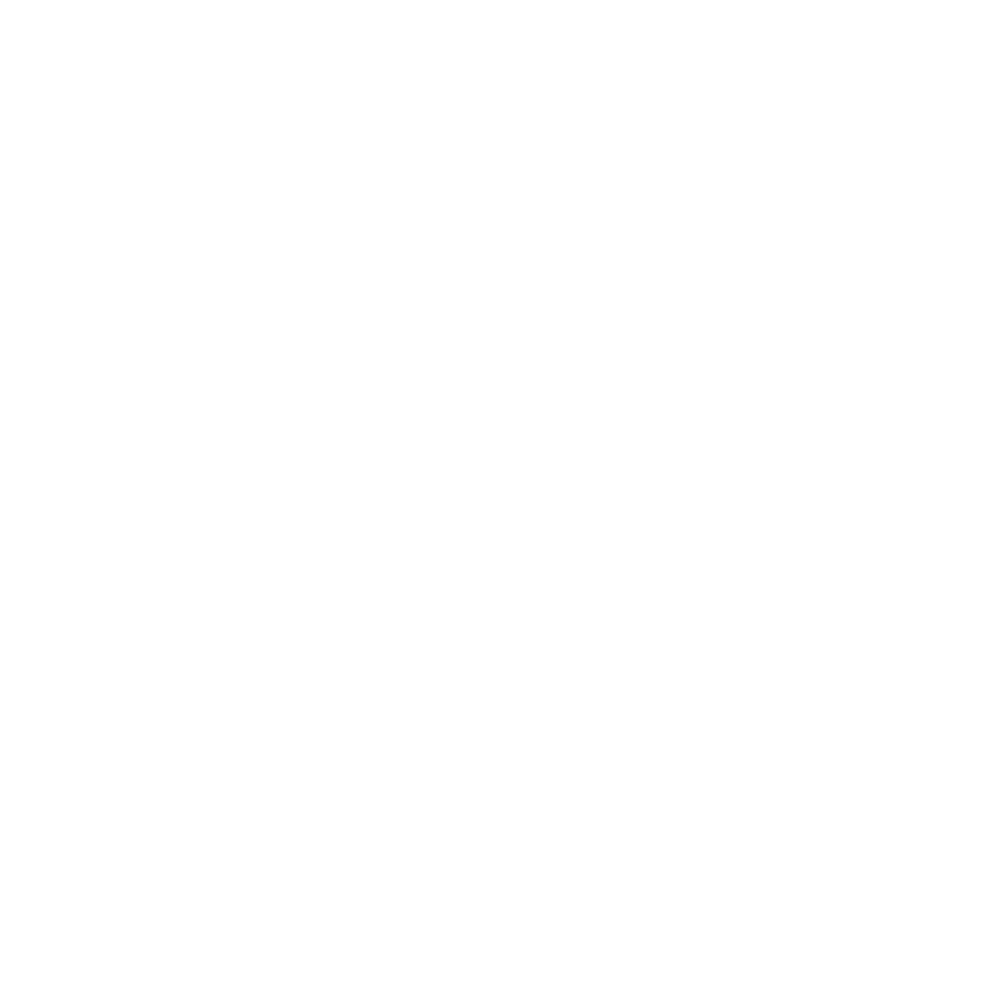 City of Delray Beach logo CMYK Primary White