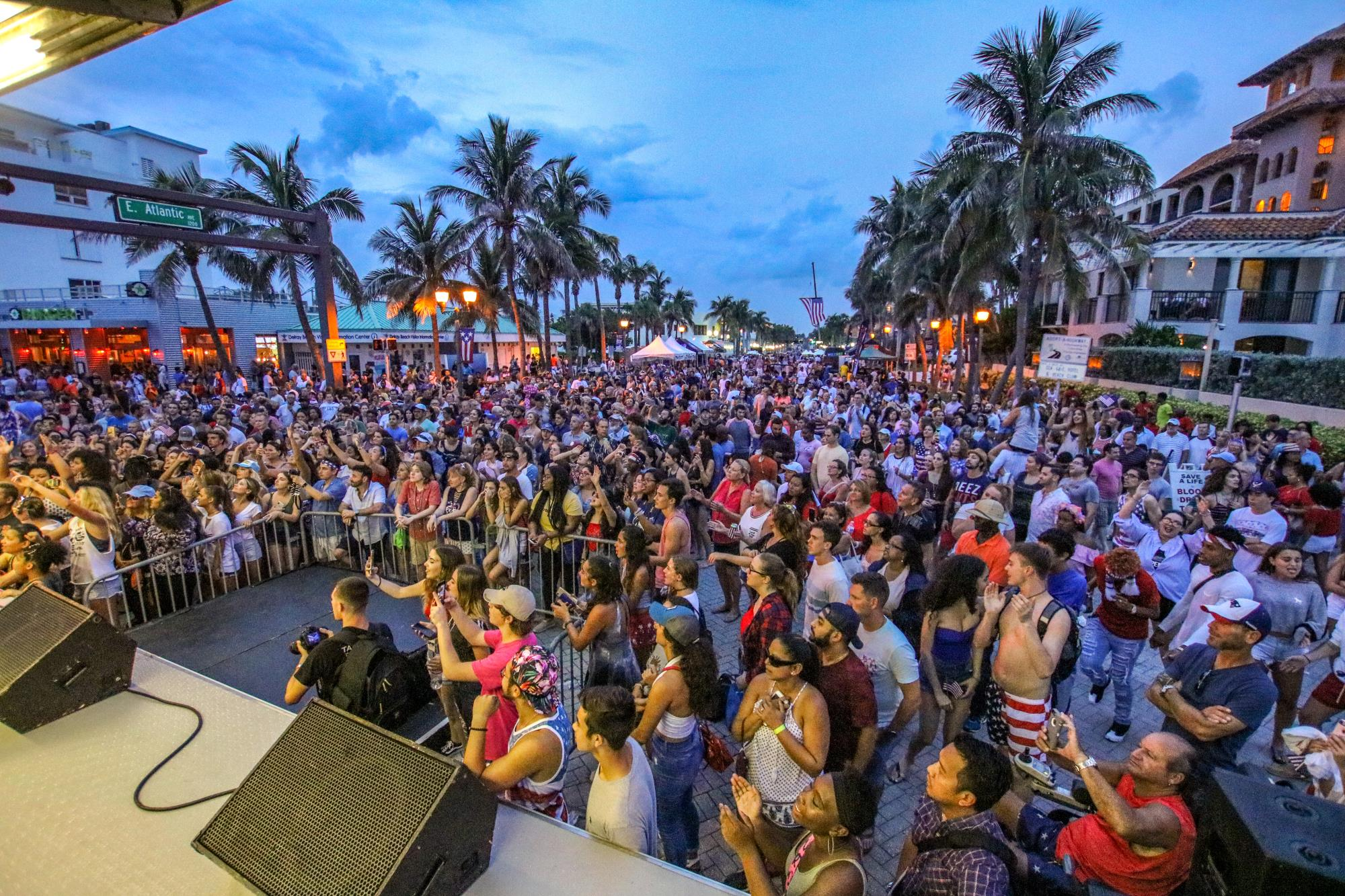 Delray beach 4th of July Concert