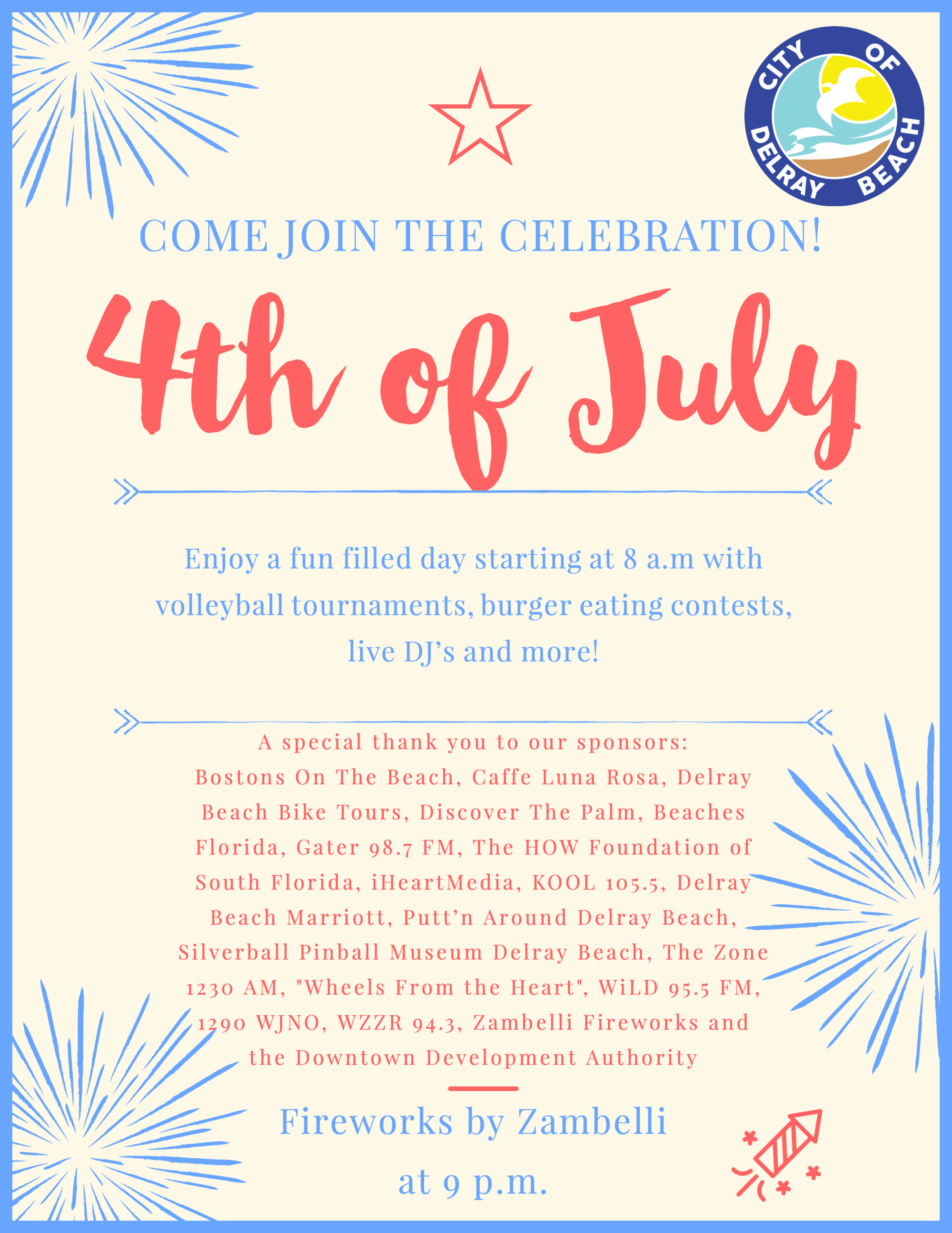 Forth of July Flyer