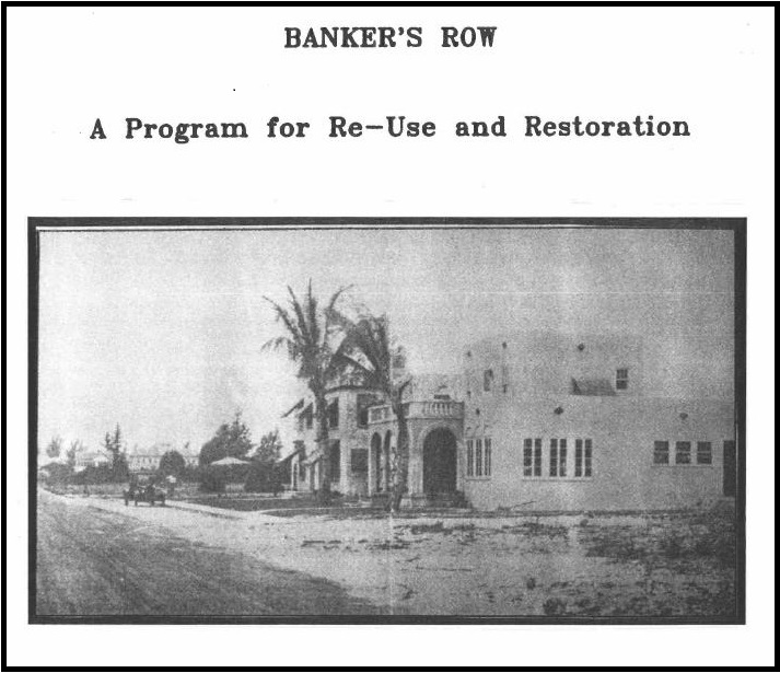 Bankers Row Icon
