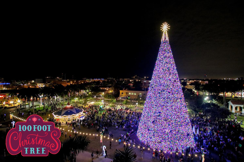 Boynton Beach Christmas Pageant 2021 Lds 100 Ft Christmas Tree City Of Delray Beach Fl